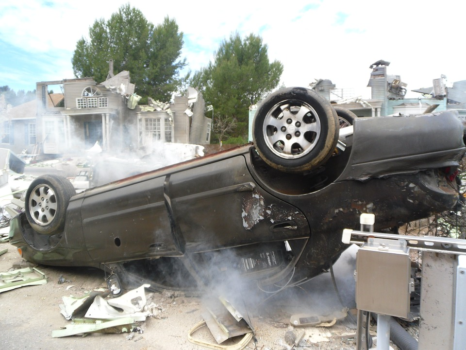 Typical Injuries in a Rollover Collision